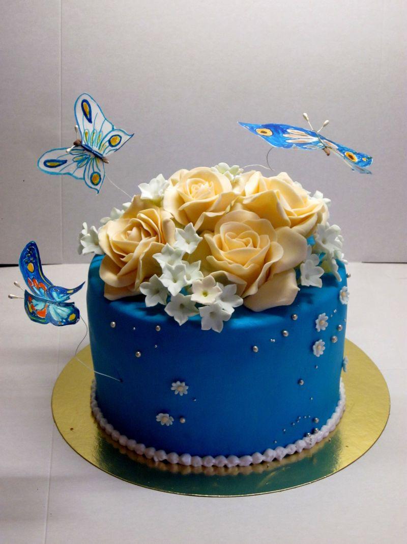 марципан для торта своими руками