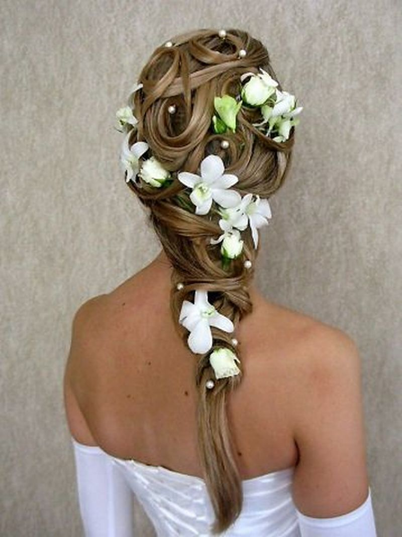 свадебные прически для длинных волос в ульяновске