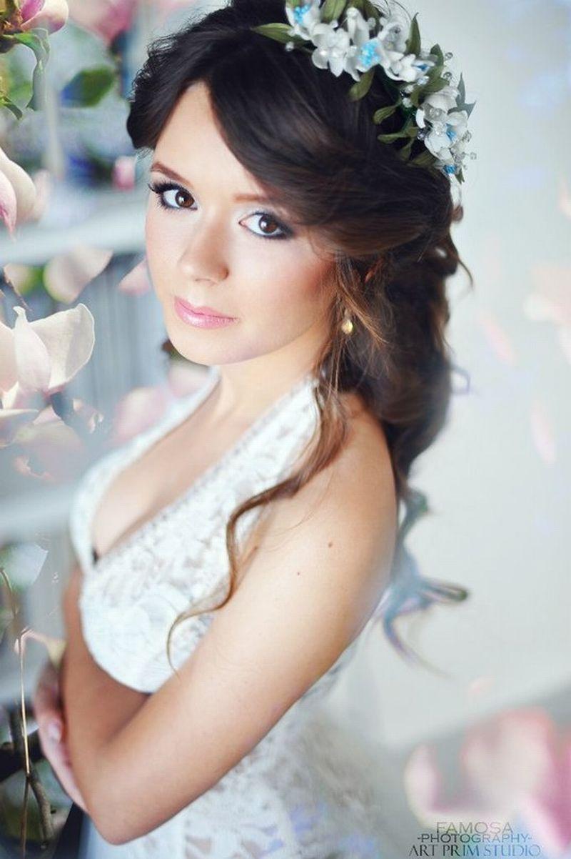 свадебные прически и макияж новокузнецк