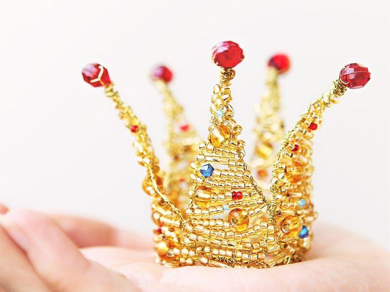 Как сделать корону ободок своими руками