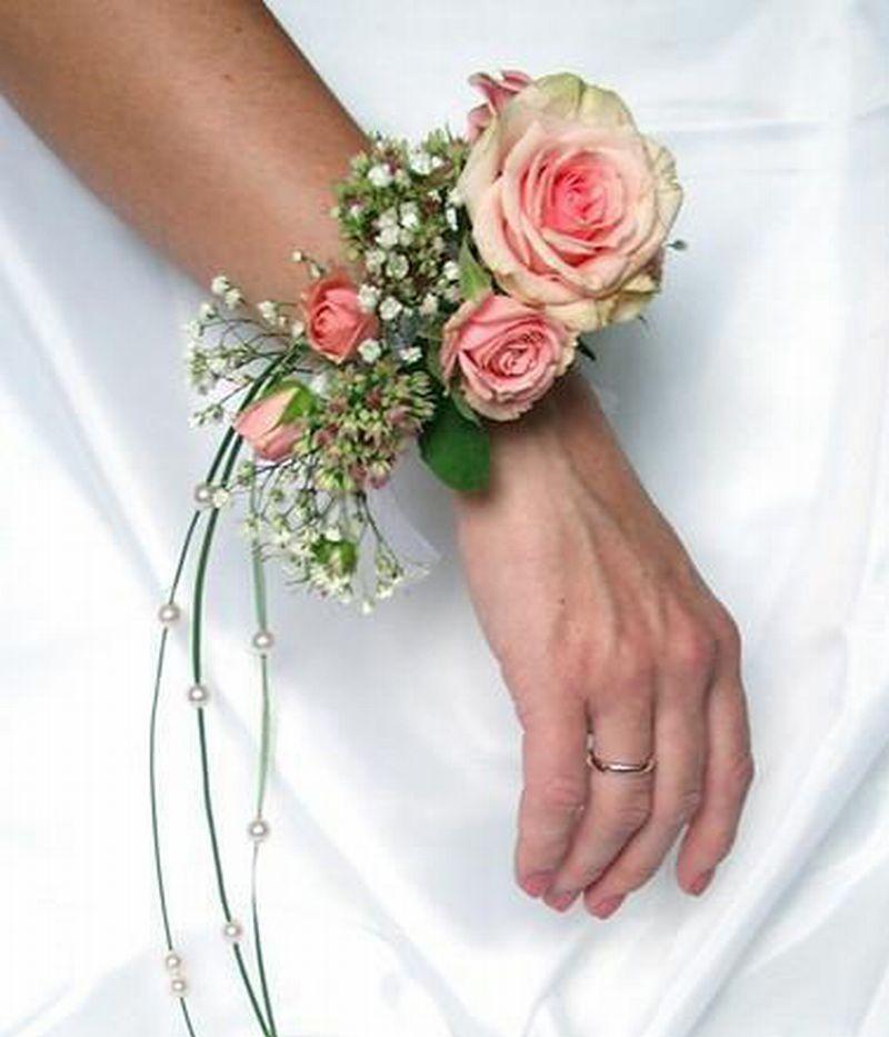 Цветы на руку для свадьбы своими руками