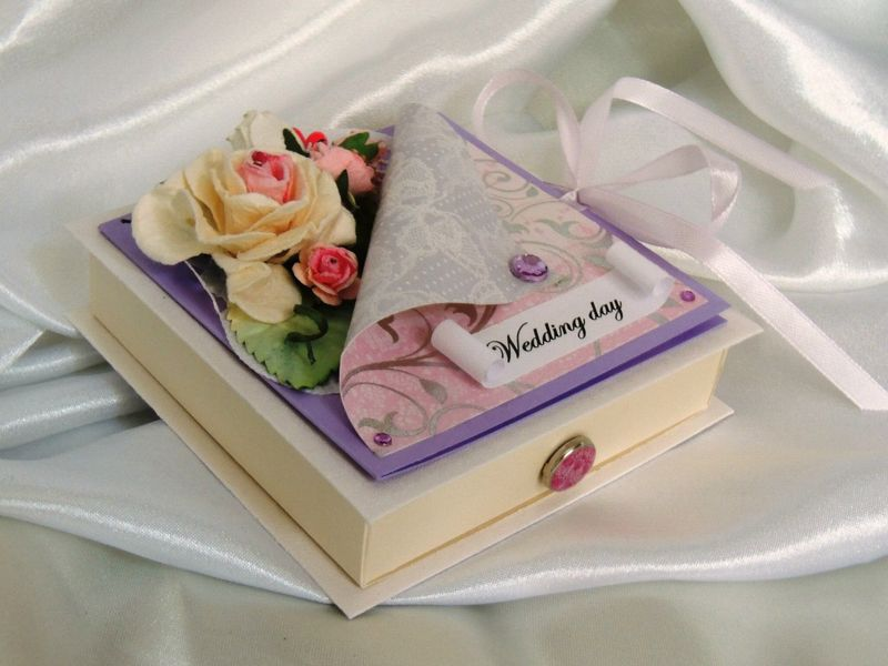 Коробка для подарков молодоженов 33