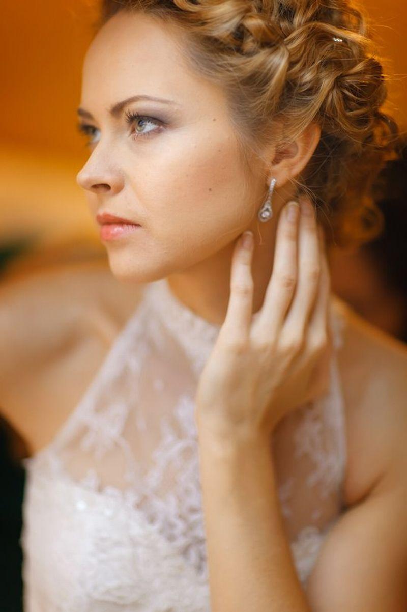 свадебные прически - свадебный парикмахер анна волкова
