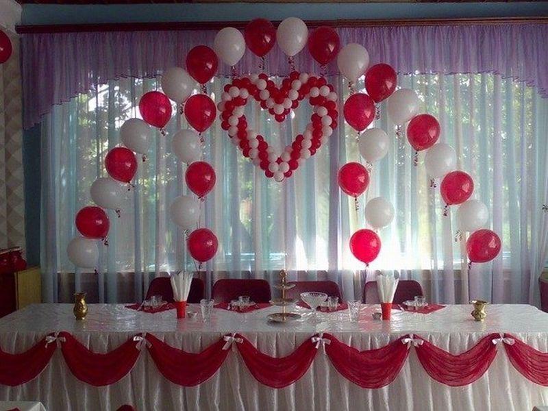 Украшение залов воздушными шарами своими руками