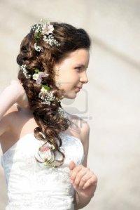Как обрабатывают живые цветы на свадебную прическу букет невесты нижний новгород заказать