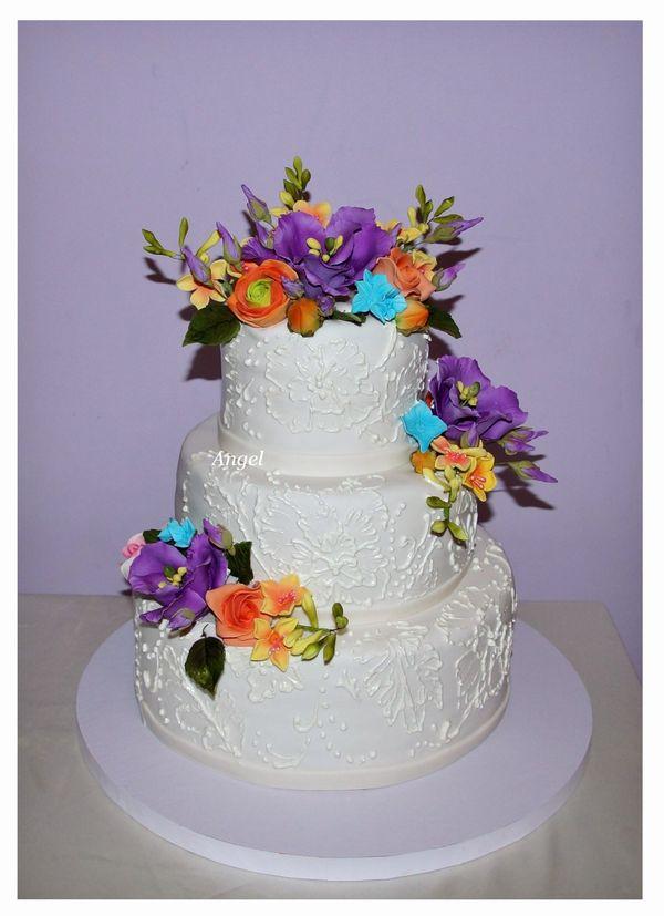 Свадебные торты фото с ценой в нижнем