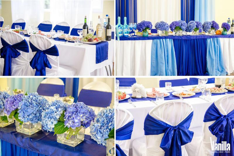 Синие свадебные платья фото невест в нарядах бело-синего 98