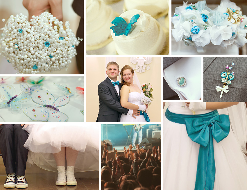 Свадьба в цвете морской волны идеи фото