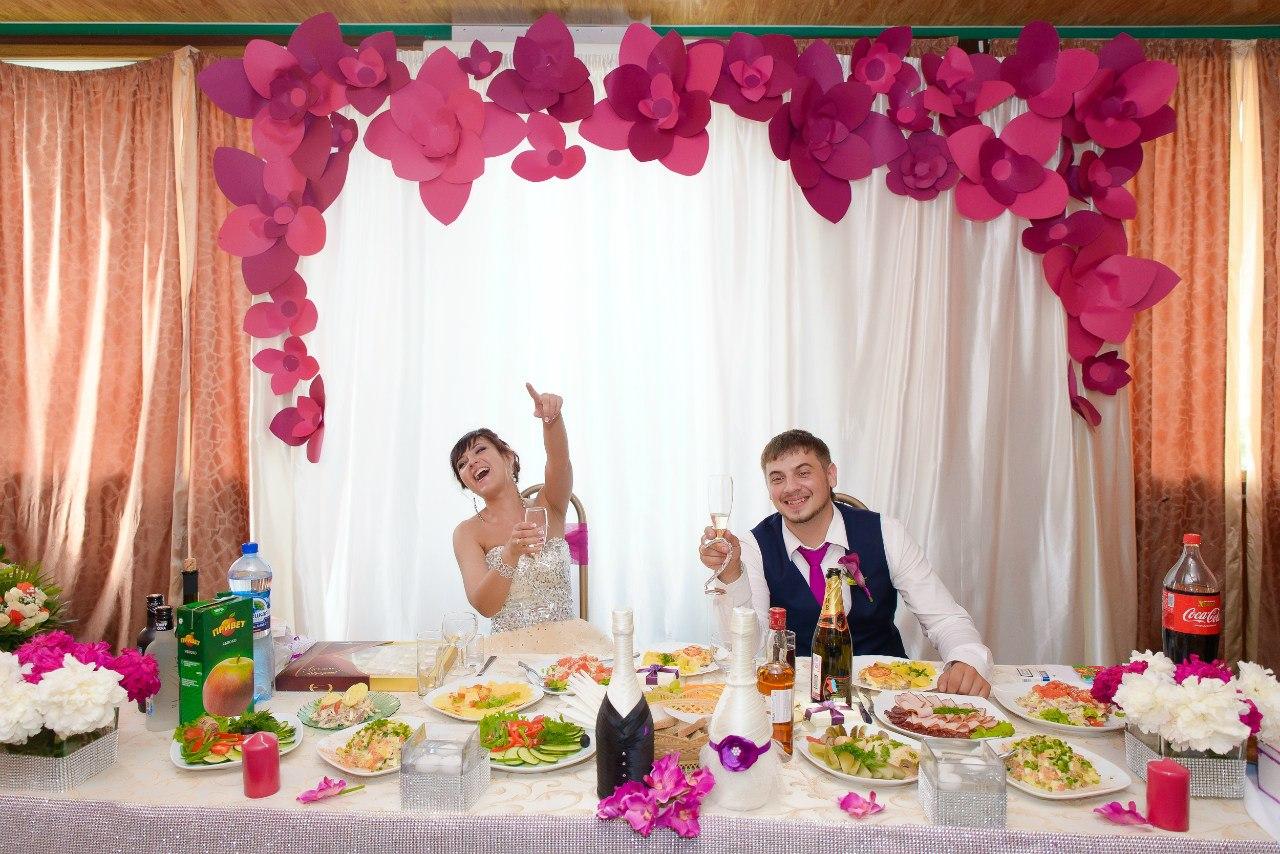 Свадьба своими руками оформление